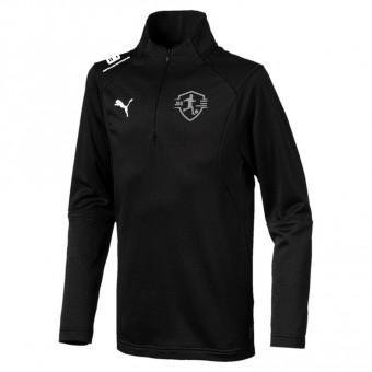 Puma JSG Drebkau-Kausche-Leuthen LIGA Training 1/4 Zip Top Puma Black-Puma White | 116
