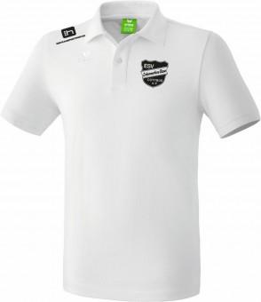 erima ESV Lok RAW Teamsport Poloshirt Unisex weiß | 116
