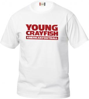 Cottbus Crayfish Fanshirt Young Crayfish Kinder T-Shirt weiß | 90/100