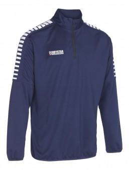 Derbystar Hyper Trainingstop Pullover Zip Sweater navy-weiß | XXL