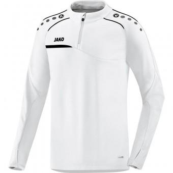 JAKO Ziptop Prestige Pullover Zip Sweater weiß-schwarz   XS