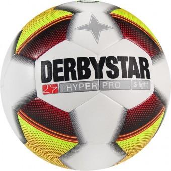 Derbystar Hyper Pro S-Light Fußball Jugendball weiß-gelb-rot | 5