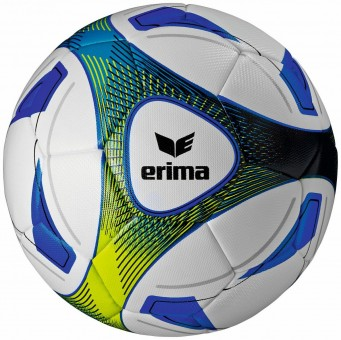 Erima Hybrid Training Fußball Trainingsball royal-lime | 5