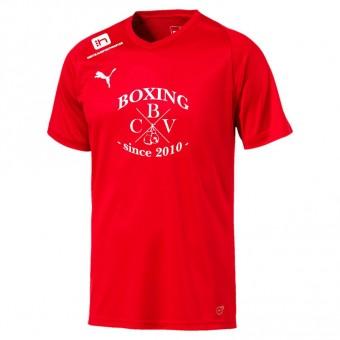 Puma CBV Boxing LIGA Jersey Core Logo Trainingsshirt Puma Red-Puma White | 116