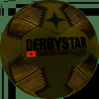 Derbystar Brillant APS Special Edition Fußball Wettspielball weiß/gold | 5