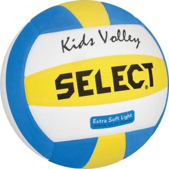 Select Kids Volleyball Freizeitball weiß-blau-gelb | 4