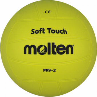 Molten PRV-2 Gummi Softball gelb | Ø 200 mm, 210g