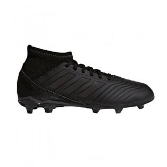 adidas Predator 18.3 FG J Fußballschuhe Kinder Core Black-Core Black-Real Coral | 34