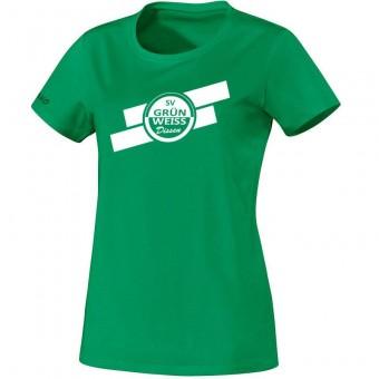 JAKO SV Grün-Weiß Dissen T-Shirt Team Damen Fanshirt sportgrün | 34 (XS)