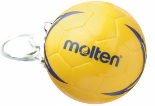 Molten KHHX Handball Schlüsselanhänger orange-blau | One Size