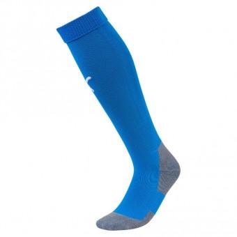PUMA SV Eiche Branitz LIGA Socks Core Stutzenstrumpf Electric Blue Lemonade-Puma White | (1) 31-34