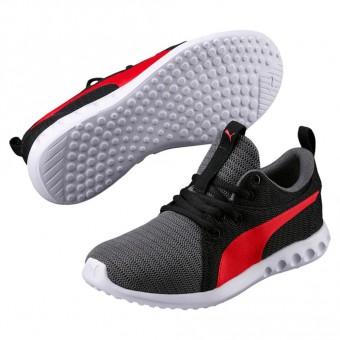 Puma Carson 2 Jr Sneaker Kinder Quit Shade-Flame Scarlet | 35,5