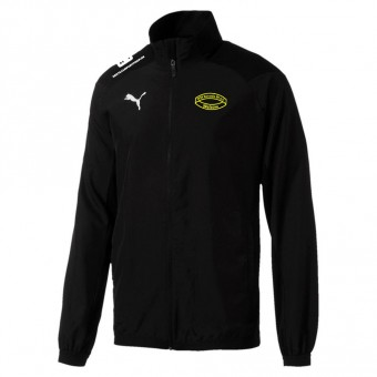 Puma Borussia 09 Welzow LIGA Sideline Jacket Jr Präsentationsjacke Kinder Puma Black-Puma White | 116
