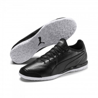 Puma KING Pro IT Fußballschuhe Indoor Puma Black-Puma White | 42