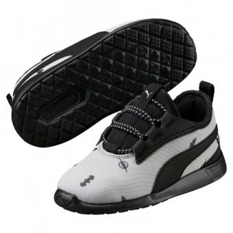 Puma Justice League' ST Trainer Evo v2 AC Inf Sneaker Training Kinder Gray Violet-Puma Black | 20