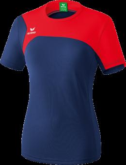 Erima Club 1900 2.0 T-Shirt Trikot Kurzarm Damen new navy-red | 36
