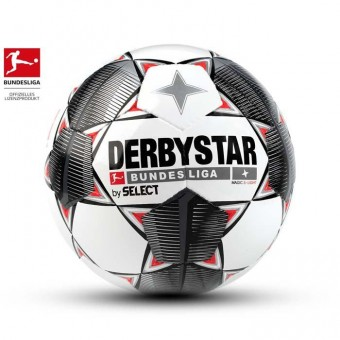 Derbystar BUNDESLIGA MAGIC S-LIGHT Weiß-Schwarz-Grau-Rot | 4