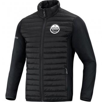 JAKO SV Grün-Weiß Dissen Hybridjacke Premium schwarz | L