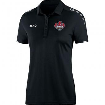 JAKO Cottbus eSports Damen Polo Classico Poloshirt schwarz | 34 (XS)