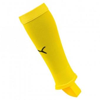 PUMA LIGA Stirrup Socks Core Stegstutzen Cyber Yellow-Puma Black | 1 (31-34)