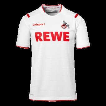 Uhlsport Herren 1.FC Köln 19/20 Heim Fußballtrikot weiß weiß | 116