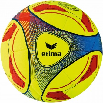Erima Hybrid Indoor Hallenfussball Jugend Hallenball gelb-blau | 4 (290g)