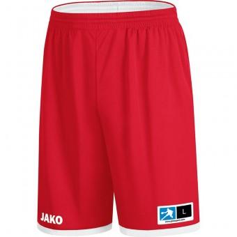 JAKO Wendeshort Change 2.0 Basketballshorts rot-weiß   XXS