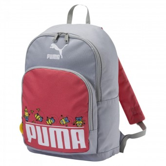 Puma Minions Backpack Rucksack Kinder High Rise-Spiced Coral | 25 x 35 x 12 cm