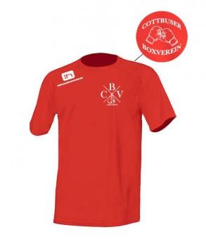 CBV Boxing Unisex Sport Shirt Laufshirt Running red | S