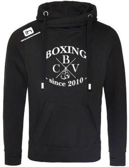 CBV Boxing Fanhoody Cottbuser Boxverein Kapuzensweater jet black | S