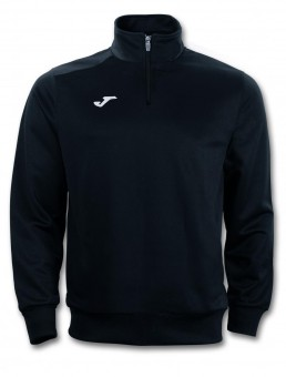 JOMA Zip Top Combi Faraon Zip Sweater schwarz | 116