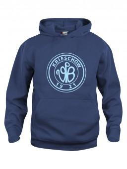 VfB 1921 Krieschow Kinder Hoody Retro Logo Kapuzensweater dark navy | 150/160