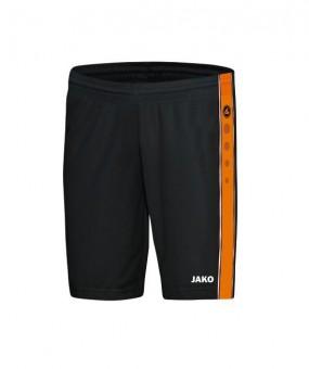 JAKO Short Center Basketballshorts schwarz-neonorange | XXL