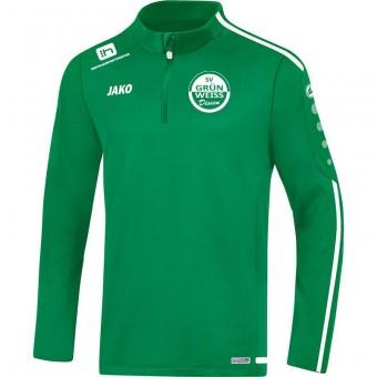 JAKO SV Grün-Weiß Dissen ZipTop Striker 2.0 Zip Sweater sportgrün-weiß | L