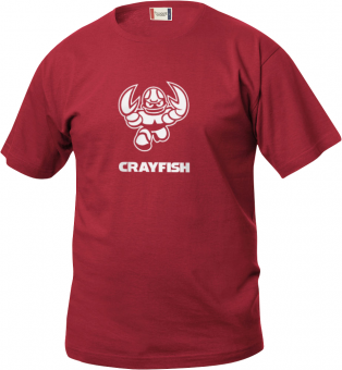 Cottbus Crayfish Fanshirt Real Kids Kinder T-Shirt rot | 90/100