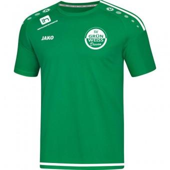 JAKO SV Grün-Weiß Dissen T-Shirt Striker 2.0 Trainingsshirt sportgrün-weiß | XL