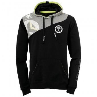 KEMPA HSV Cottbus Volley Core 2.0  Hoodie Kapuzenpullover schwarz-dark grau melange   M