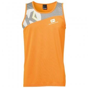 KEMPA HSV Cottbus Volley Core 2.0 Singlet Beach Herren fresh orange-dark grau melange | S