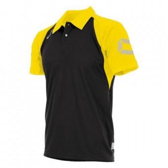 Stanno Riva Polo Poloshirt schwarz-gelb | XL