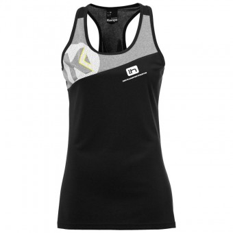 KEMPA HSV Cottbus Volley Core 2.0 Singlet Women Beach Damen schwarz-dark grau melange | XS