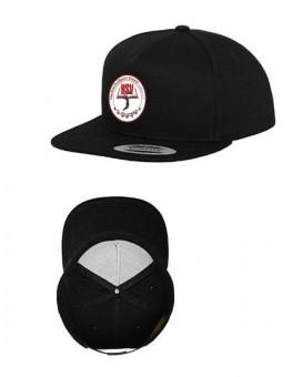HSV Cottbus Volley Flexfit Logo Cap Snapback Basecap schwarz   One Size (Erwachsene)