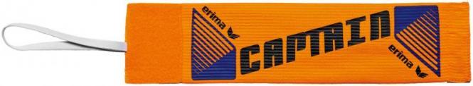 Erima Kapitänsbinde mit Klett neon orange/schwarz | 1