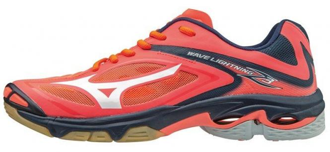 Mizuno WAVE Lightning Z3 FCoral/White/DressBlues | 38,5