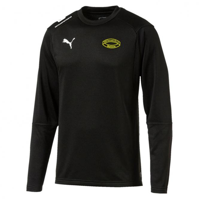 Puma Borussia 09 Welzow LIGA Training Sweat Jr Rundhals Trainingssweater Kinder