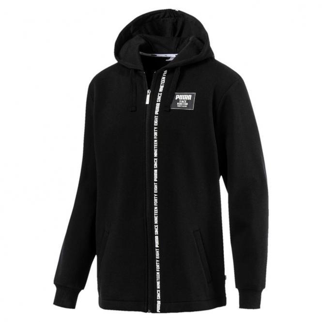 Puma Rebel Block FZ Hoody FL Cotton Kapuzen Zipper