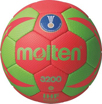 Molten H1X3200-RG Handball Trainingsball rot-grün | 1
