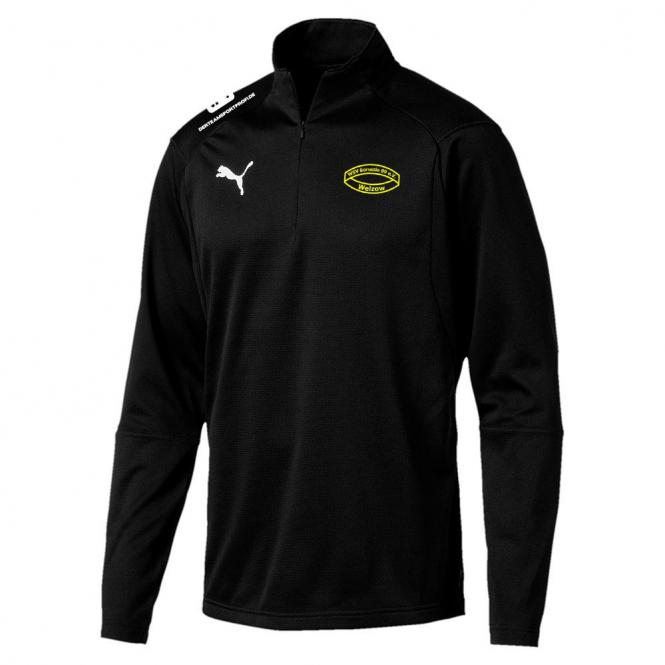 Puma Borussia 09 Welzow LIGA Training 1/4 Zip Top Jr Trainingssweater Kinder