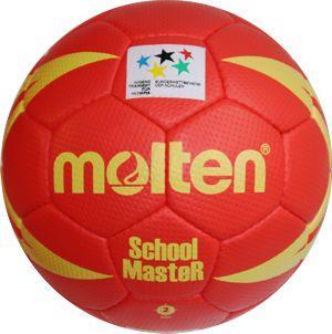 Molten H2X-SM Handball SchoolMasteR rot-gelb   2