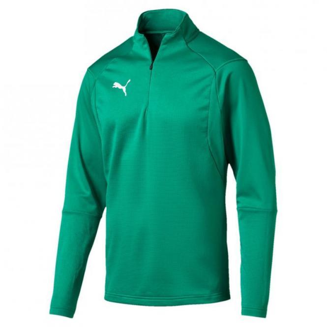 PUMA LIGA Training 1/4 Zip Top Pullover Zip Sweater