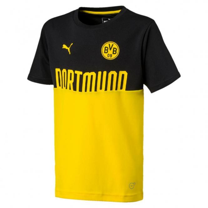 Puma BVB Fanwear Poly Tee Jr T-Shirt